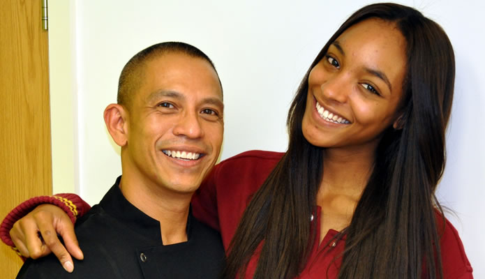 Top model Jourdan Dunn had her Pearlys treatment with Joey at Renew in Knightsbridge