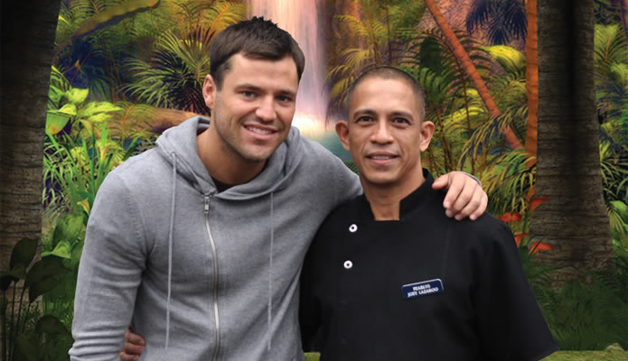 Mark Wright visits Pearlys before heading to the jungle!